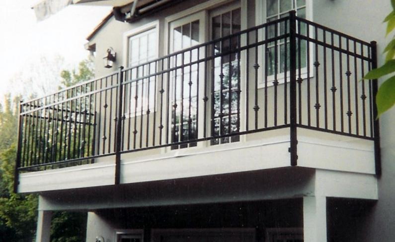 Twisted metal of sacramento for Terrace railing