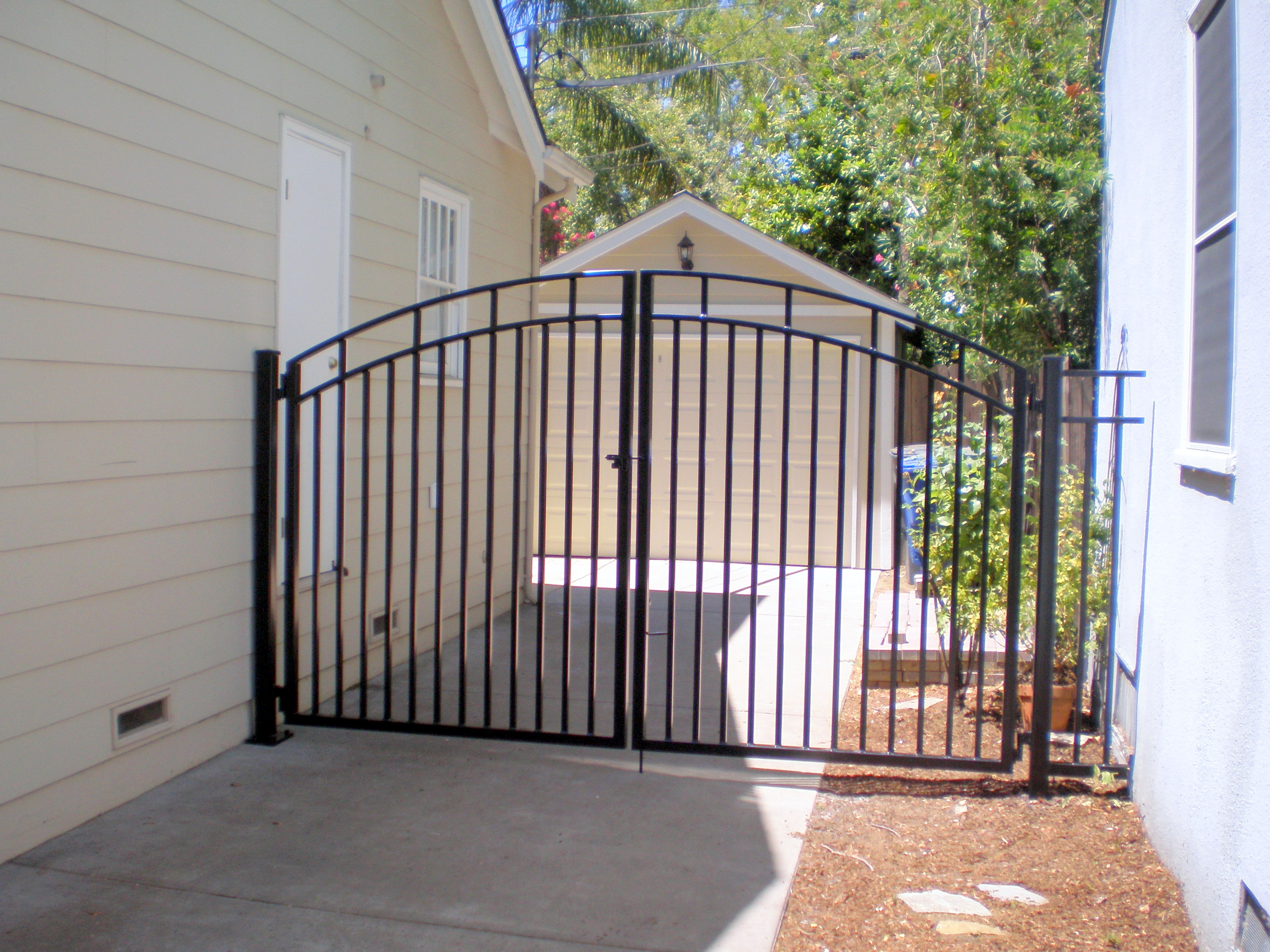 Iron Fence And Driveway Gates Fence Gate