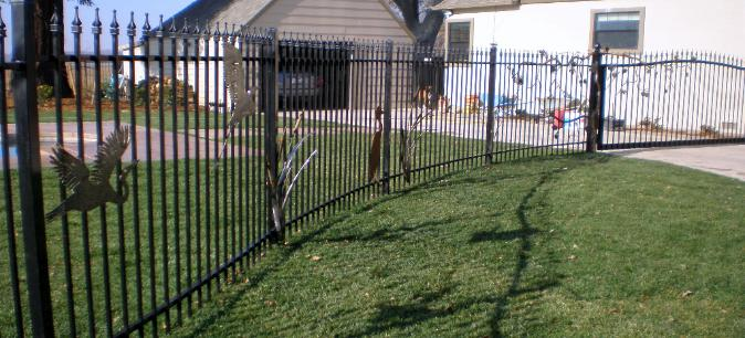Custom Ornamental Iron Fencing