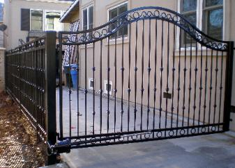 Custom Wrought Iron Gate & Fencing
