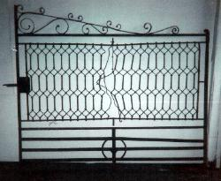 Damaged Iron Gate