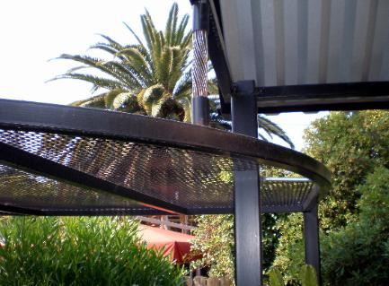 Custom Perforated Stee Shade Structurel