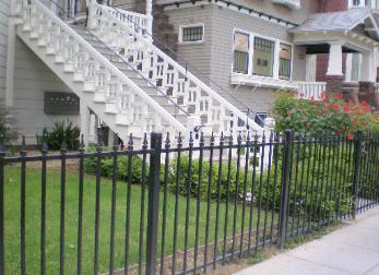 Basic Ornamental Iron Fencing