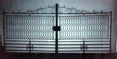 Repaired Iron Gate