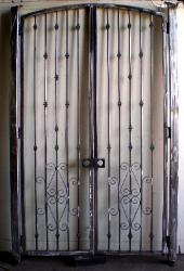 Wrought Iron Courtyard Gate - Natomas