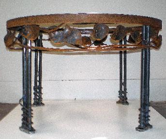 Hand Forged Steel Table Legs