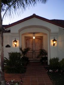 Installed Custom Outdoor Lighting - Los Altos