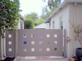 Mordern Steel Gate Design