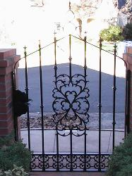 Ornamenal Iron Gate