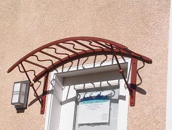 Custom Steel Awning - Sacramento