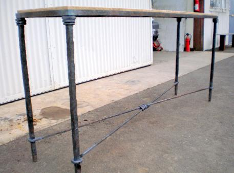 Hand Forged Iron Table
