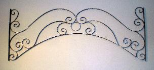 Ornamental Iron Arch
