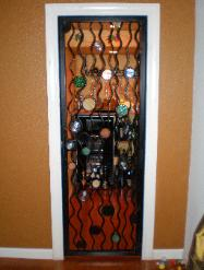 Custom Ornamental Iron Wine Cellar Door - Rocklin