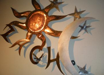Copper, Aluminum, & Steel Wall Art