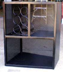 Fabricated Steel Wine Rack