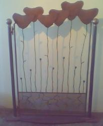 Ornamental Iron Garden Gate